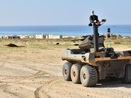 Un robot va combattre les terroristes à la frontière de Gaza