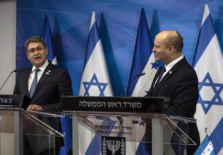 Peu de tambours et pas de trompettes - Inauguration de l'ambassade du Honduras à Jérusalem