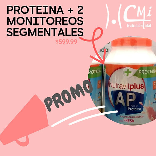PROTEINA + 2 MONITOREOS CORPORALES