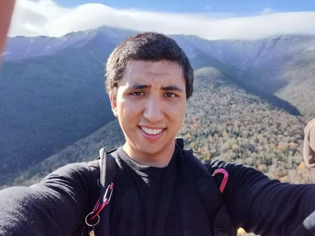 First-year PhD candidate, Jason Bishai, joins our lab!