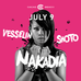 DJ Nakadia - 9 JULY - CACAO BEACH