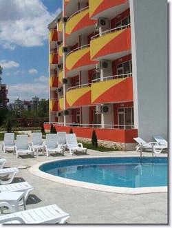 Complex Orange Residence Sunny Beach
