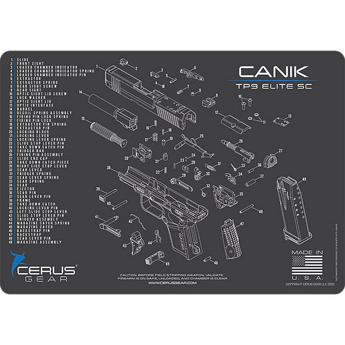 CANIK® TP9 Elite SC SCHEMATIC PROMAT