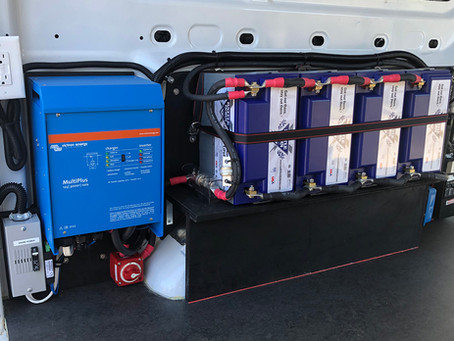 Powering up a Ford Transit Van