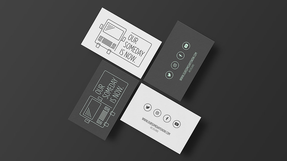 Our Someday Is Now Business Cards