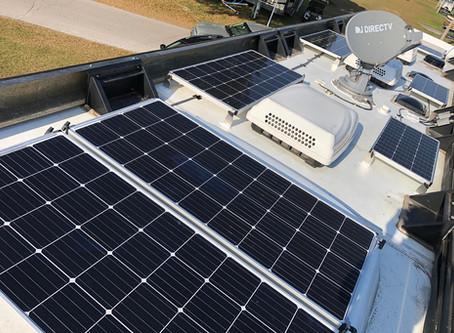 Off-Grid Charging for a Newmar Dutch Star