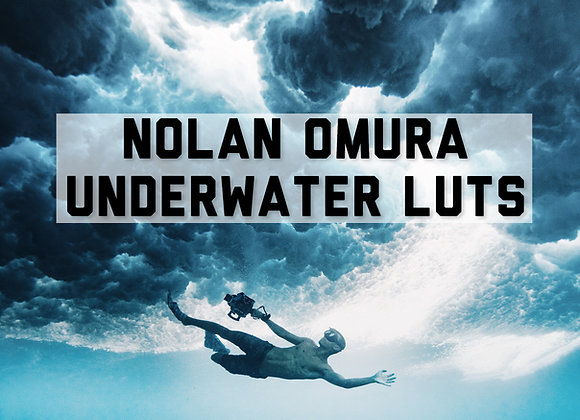 Nolan Omura Underwater Luts For Video