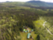 Moose Camp Aerial View