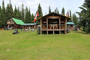 Front of Moose Camp