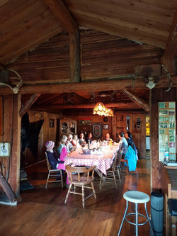 2017 Sisters in the Dining Room