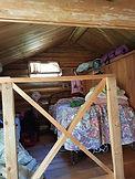 Inside Honeymoon Cabin
