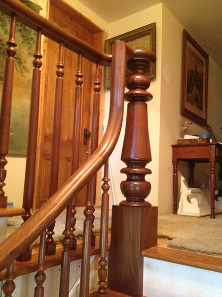 CUSTOM RAILING DETAIL