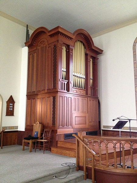 HISTORIC PIPE ORGAN RESTORATION