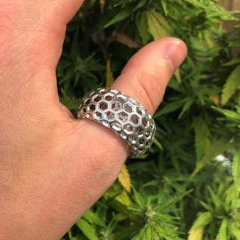 Taurus Hexagon XL Ring