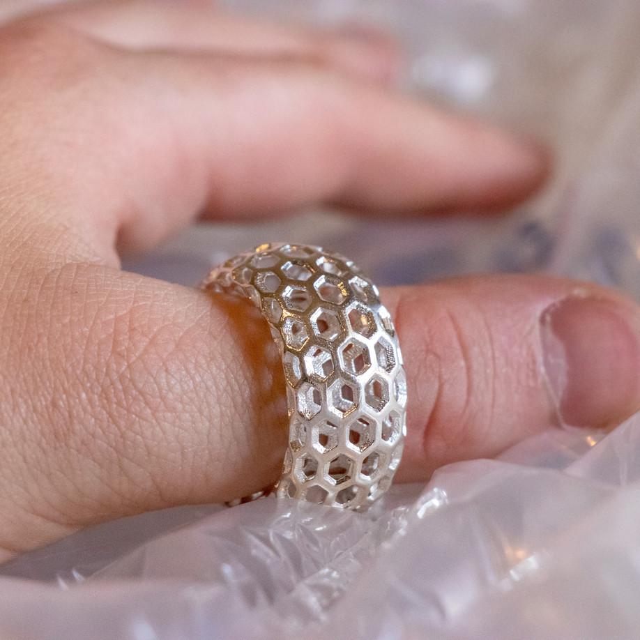 Taurus Hexagon XL Ring