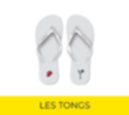 Tongs Personnalisées Panopli