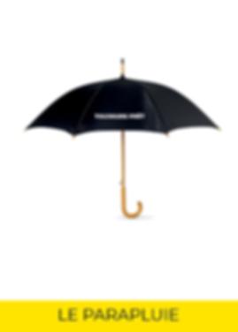 Parapluie welcome pack panopli