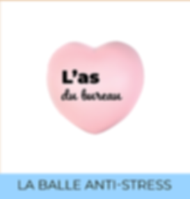 Balle anti-stress personnalisée welcome pack