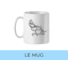 Mug personnalisé welcome pack