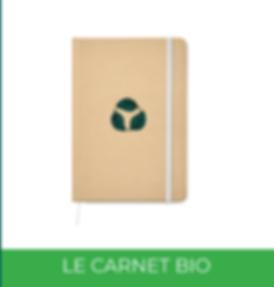 Carnet Biologique Panopli