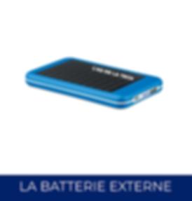 Batterie Externe Personalisée