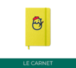 Carnet welcome pack panopli