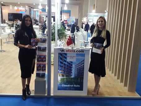 Coordinat Suits Otel Travel Turkey 2019 Fuarında ilgi çekti.