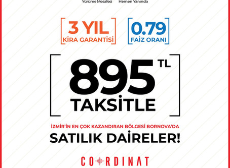 895 TL'ye Ev Sahibi Ol!