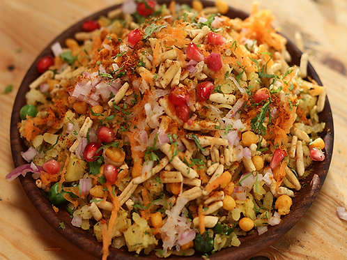 Poha sev mix
