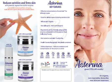 Asterina Quick Information!