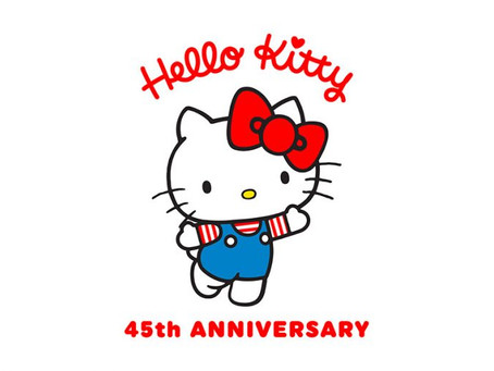 The party has begun! We're celebrating the 45th Anniversary of Hello Kitty!