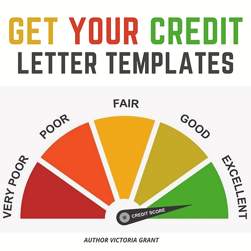 Get Your Credit Letter Templates