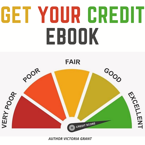 Get Your Credit Ebook