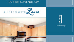 1000+ sq ft condo in Downtown Calgary for under $400,000!