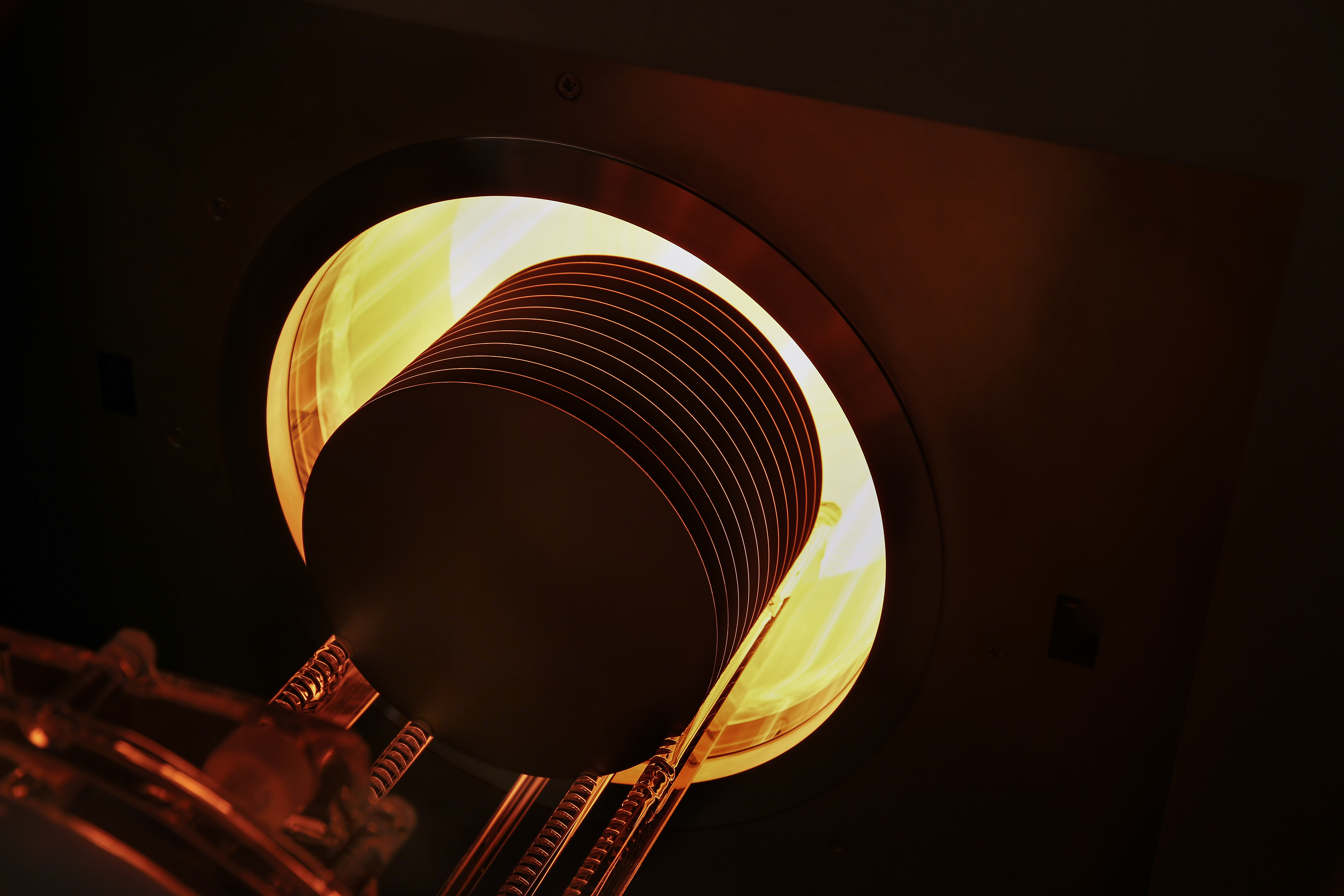 PEO 604 drive in wafer top heating on dark
