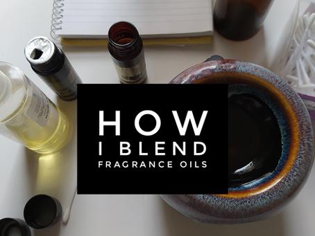 how I blend fragrance oils
