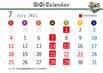 7月GiGiカレンダー