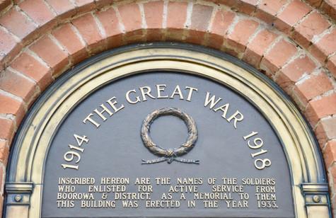 Boorowa's War Memorial
