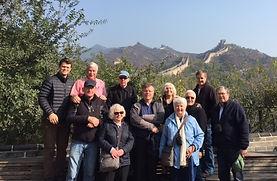 Enjoying the Great Wall