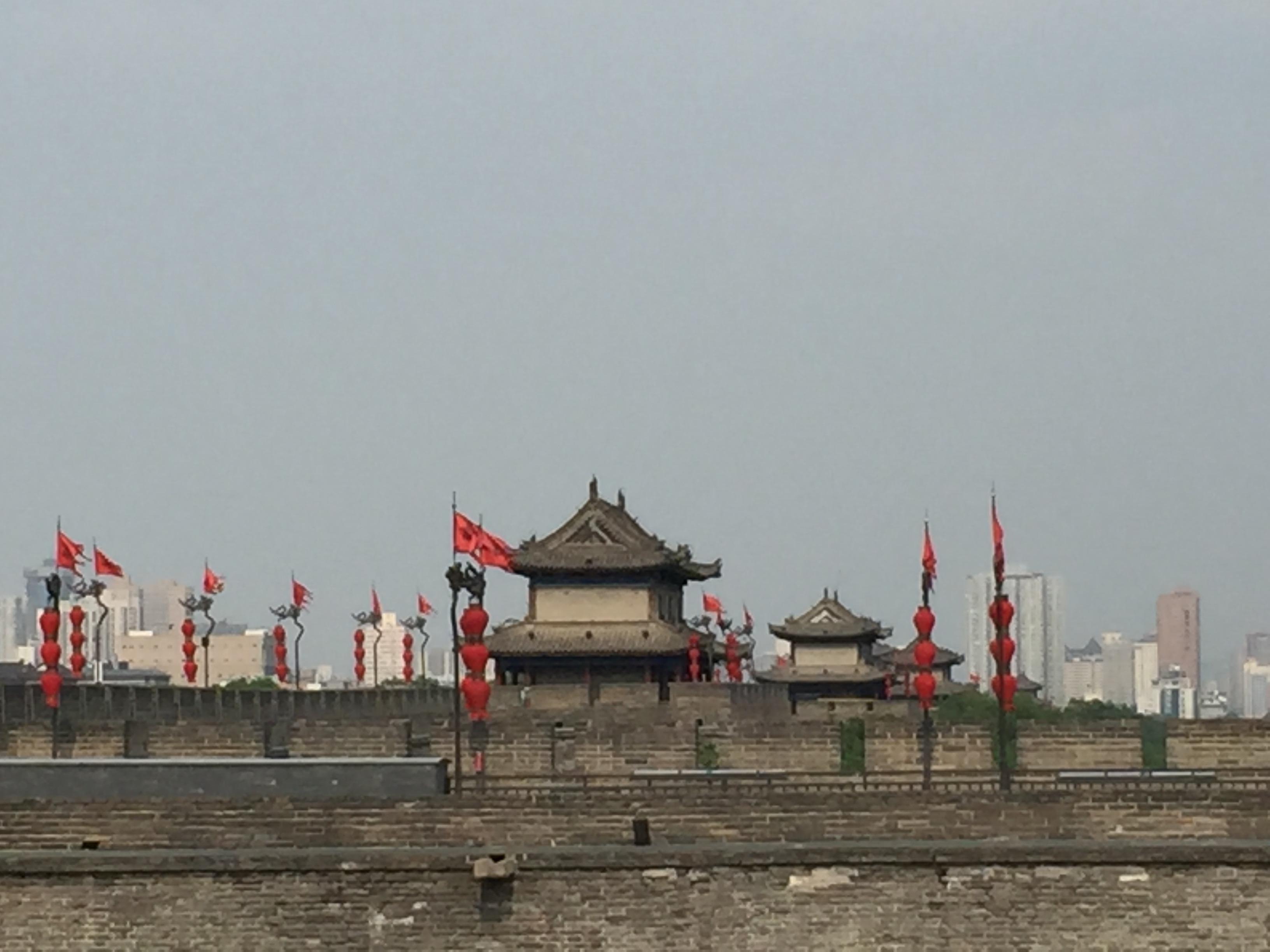 Xi'an city's walls