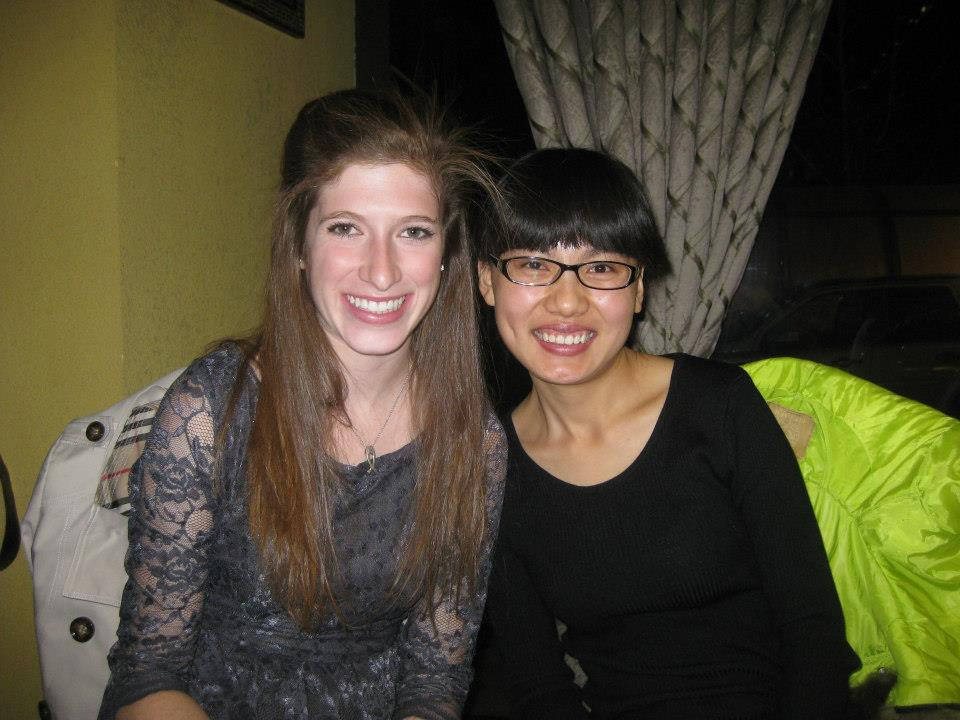 Kate and AiAi in Beijing