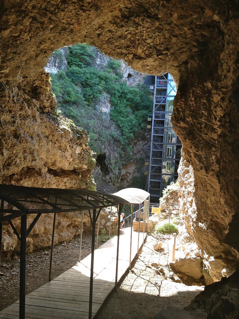 Caves at Peking Man site
