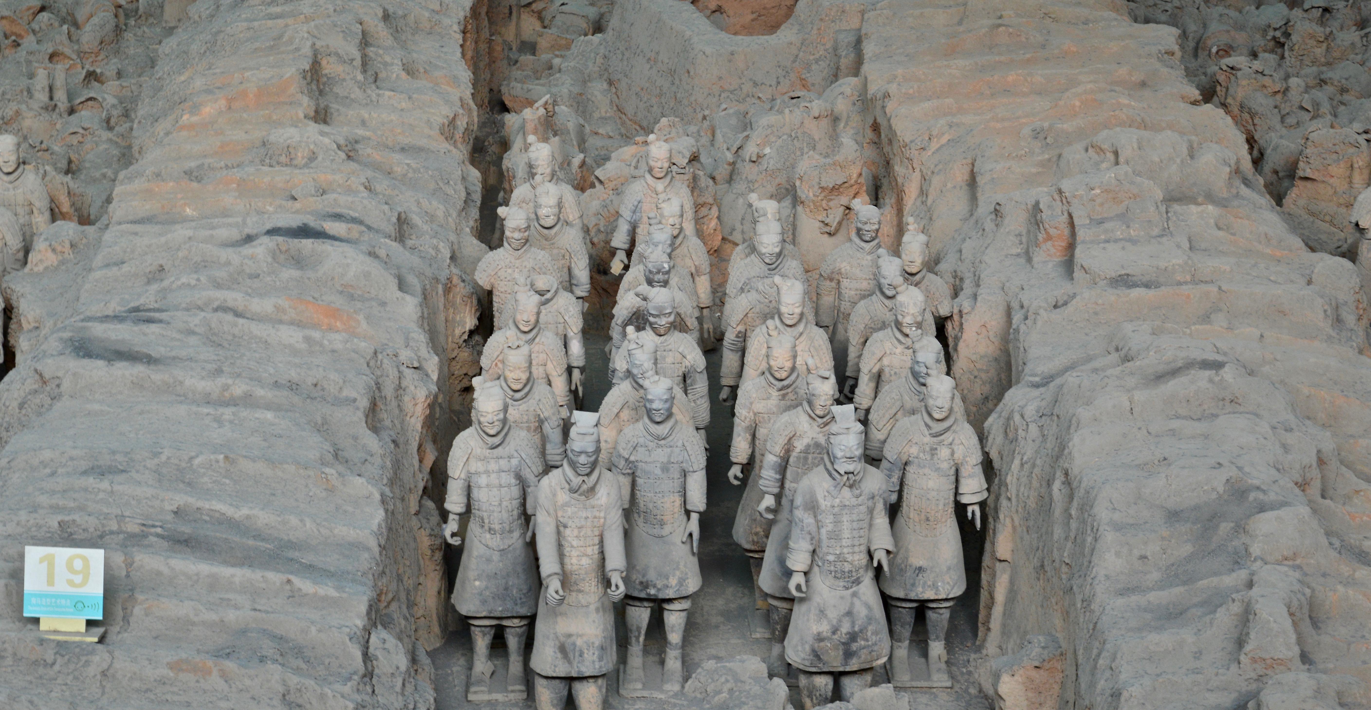 Entombed Warriors