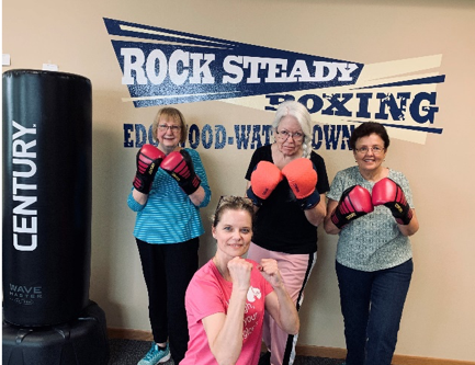 Rock Steady Boxing Now in Watertown