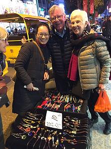 Maureen and John are befriended in Yangshuo