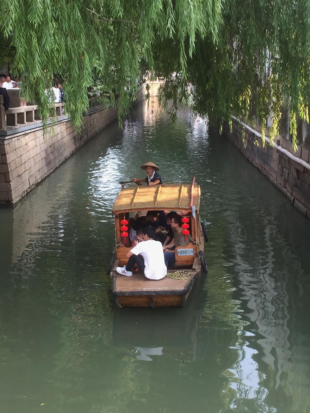 Canal in Pingjiang District Suzhou