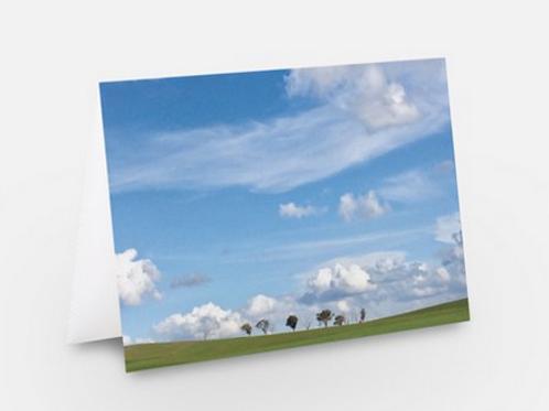 Greeting card, blank inside