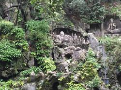 A Buddhist grotto