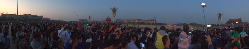 Dawn in Beijing