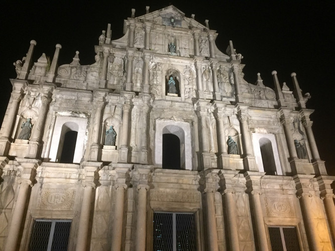 Facade of St Paul's, Macau